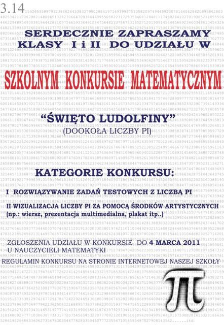 Szkolny Konkurs Matematyczny Autor Dk